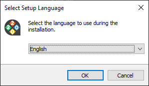 ARCHLine.XP Installation Select Language