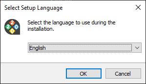 ARCHLine.XP Installation Select Language