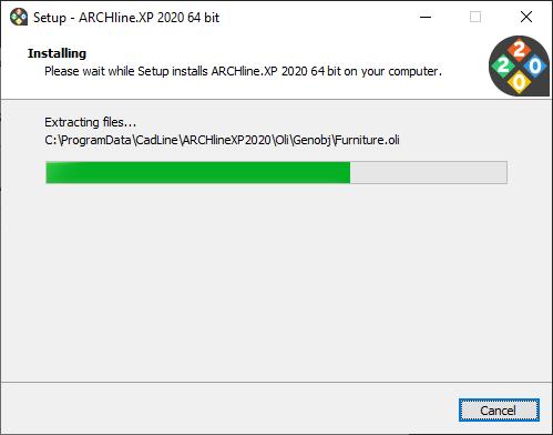 ARCHLine.XP Select Destination Folder